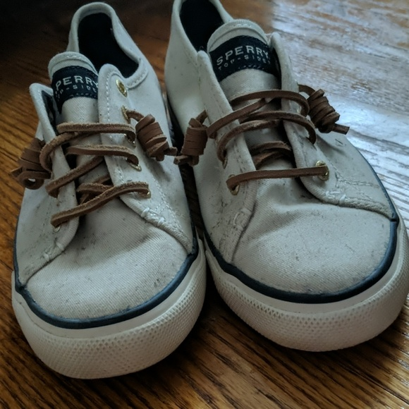Sperry Shoes - Sperry Off White Slip On